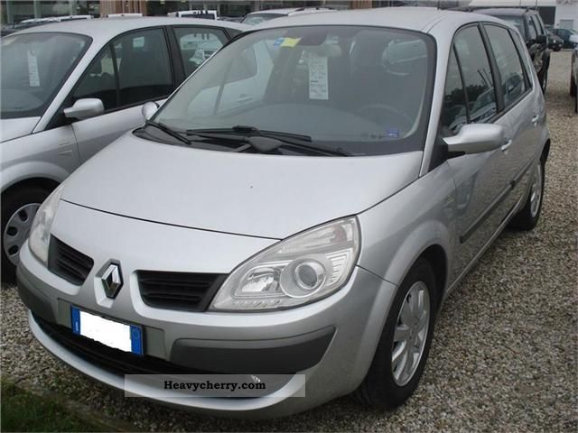 renault scenic 1 9 dci 130 cv luxe 2007 other vans  trucks up to 7 photo and specs