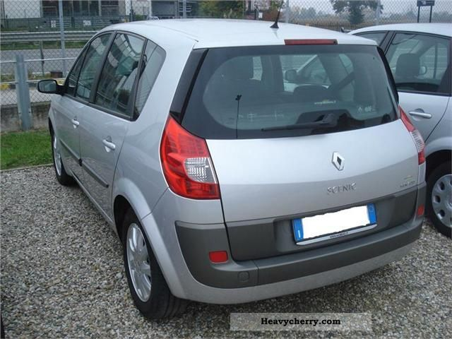 renault scenic 1 9 dci 130 cv luxe 2007 other vans trucks up to 7 photo and specs. Black Bedroom Furniture Sets. Home Design Ideas