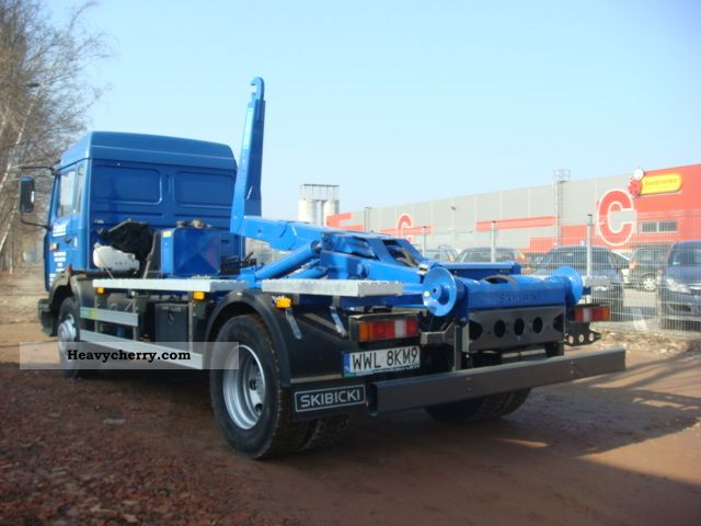 Renault M 150 2000 Roll Off Tipper Truck Photo And Specs