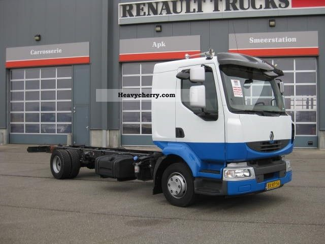 renault midlum 220 12 ml euro5 2010 chassis truck photo and specs. Black Bedroom Furniture Sets. Home Design Ideas
