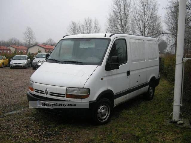 renault master l1h1 1999 other vans trucks up to 7 photo. Black Bedroom Furniture Sets. Home Design Ideas