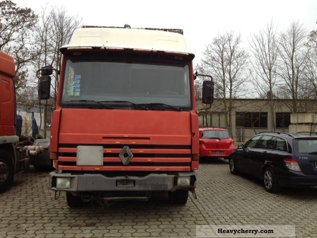 1994 Renault  Major 340 steel suspension Semi-trailer truck Standard tractor/trailer unit photo