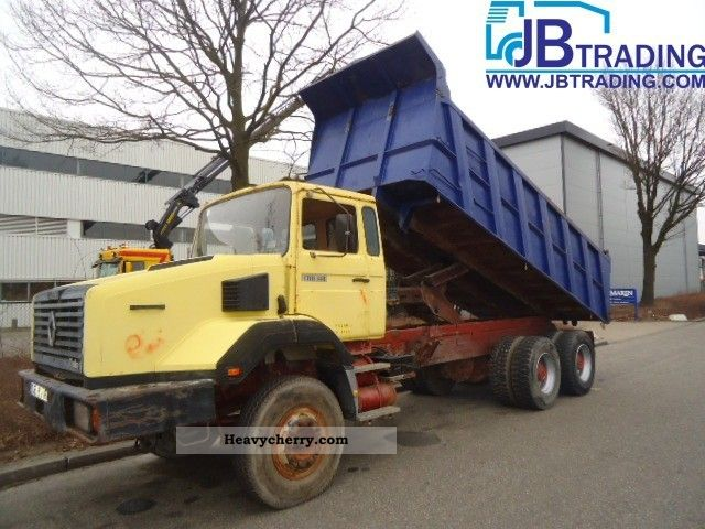 1989 Renault  CBH 340 Truck over 7.5t Tipper photo