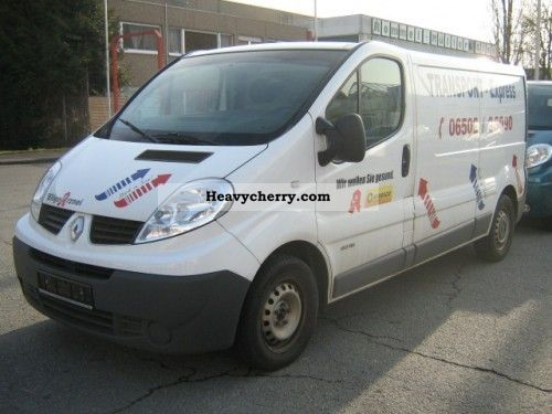 renault trafic l2h1 box truck 2 7 t 2 0 2009 box type delivery van photo and specs. Black Bedroom Furniture Sets. Home Design Ideas