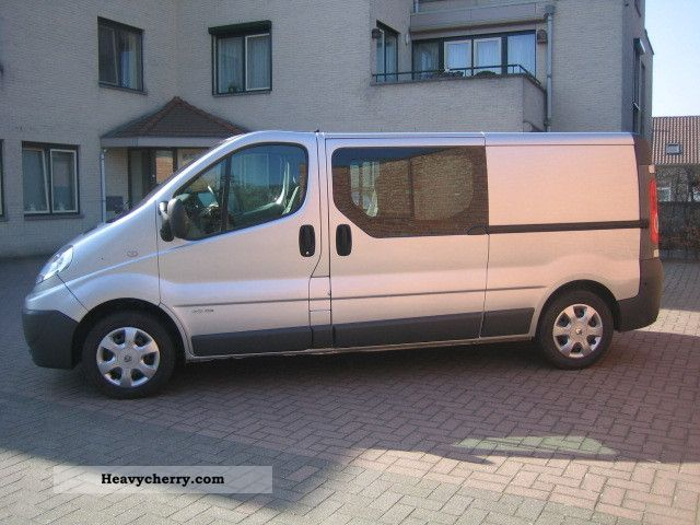 renault trafic l2h1 dci 29 doka navi climate 2007 box type delivery van long photo and specs. Black Bedroom Furniture Sets. Home Design Ideas