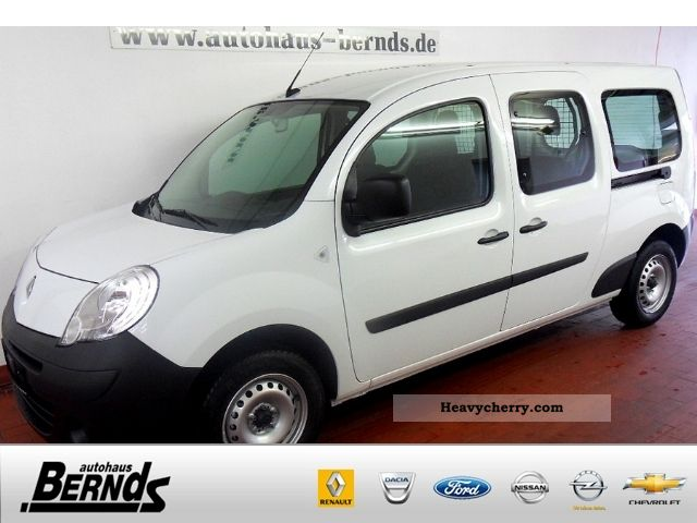 renault kangoo 1 5 dci 90 fap maxi doka 2011 box type delivery van photo and specs. Black Bedroom Furniture Sets. Home Design Ideas