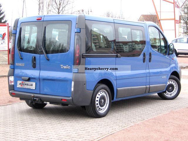 renault trafic 1 9 dci100 l1h1 combi bus 9 seater 2005. Black Bedroom Furniture Sets. Home Design Ideas