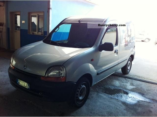 renault kangoo 1 9 d furgone 2001 other vans trucks up to 7 photo and specs. Black Bedroom Furniture Sets. Home Design Ideas