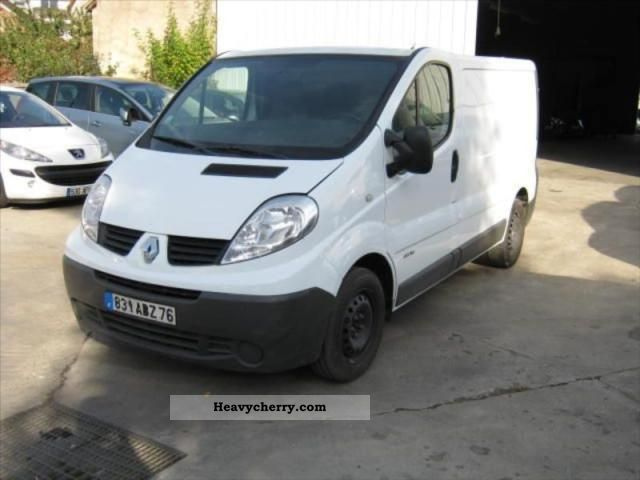 renault trafic 2 0 dci 115 fourgon l1h1 confort 1200 kg 2008 box truck photo and specs. Black Bedroom Furniture Sets. Home Design Ideas
