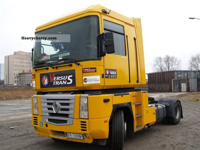 2002 Renault  Magnum Semi-trailer truck Other semi-trailer trucks photo