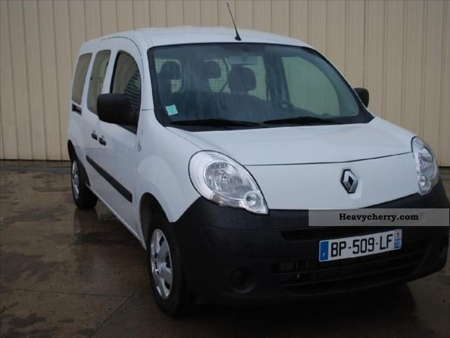 renault kangoo express maxi cab dci85 extra appr 2011 box truck photo and specs. Black Bedroom Furniture Sets. Home Design Ideas