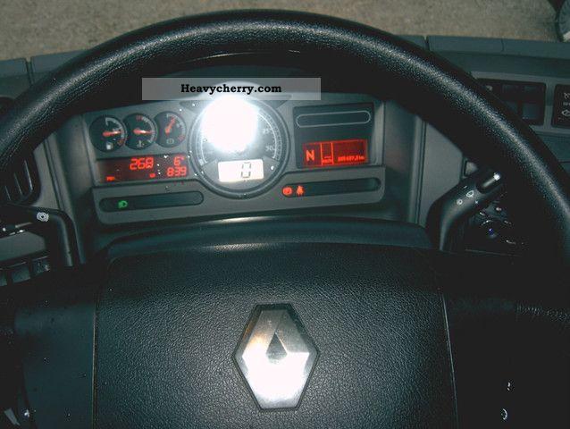 Renault Midlum 220 08 DXi AHK  LBW -air AdBlue 2008 Stake