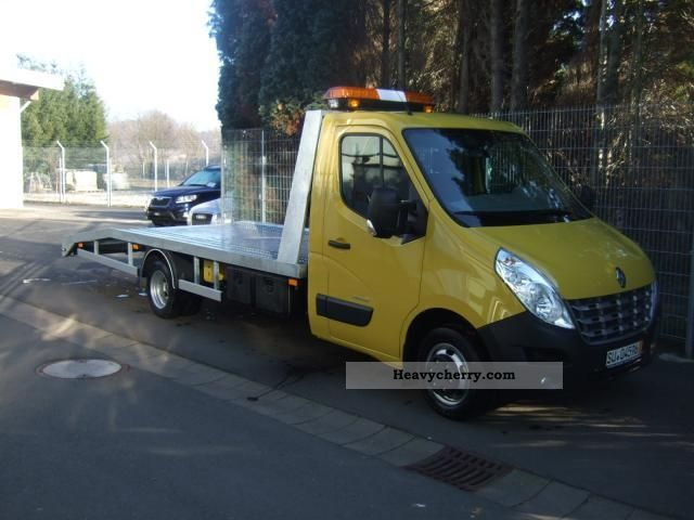 2011 Renault  Master L4H1 4.5 DCi 150 twin tires Van or truck up to 7.5t Breakdown truck photo