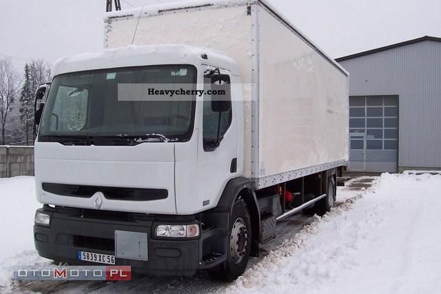2002 Renault  PREMIUM 270.19 2002 DISTRIBUTION Truck over 7.5t Food Carrier photo