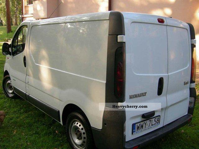 renault trafic l1h1 furgon 2004 other vans trucks up to 7. Black Bedroom Furniture Sets. Home Design Ideas