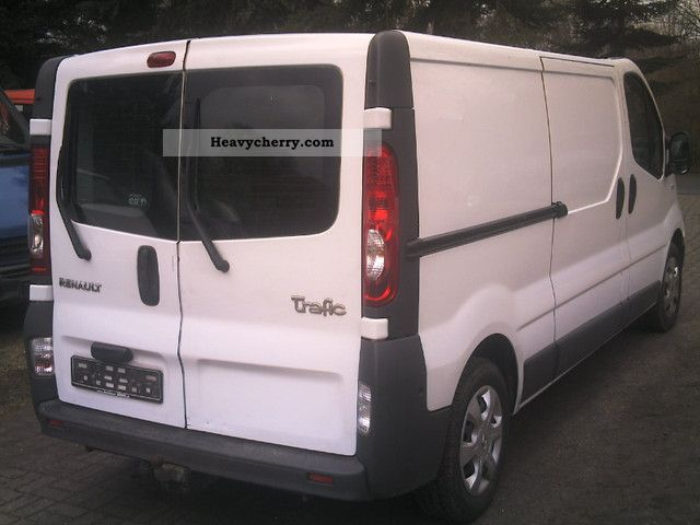 renault trafic l2h1 long rear doors 2009 box type delivery van high photo and specs. Black Bedroom Furniture Sets. Home Design Ideas