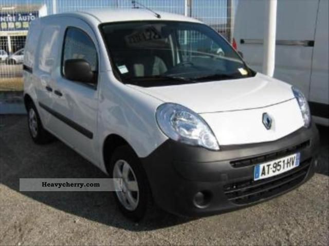 renault kangoo express 1 5 dci 85 comfort 2010 box truck photo and specs. Black Bedroom Furniture Sets. Home Design Ideas