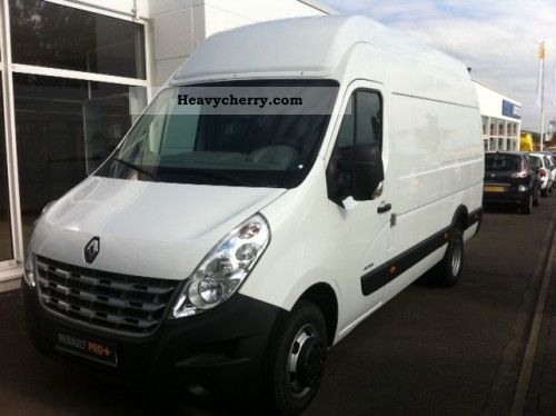 renault master l3h3 rear truck box automatic 2012 box type delivery van photo and specs. Black Bedroom Furniture Sets. Home Design Ideas