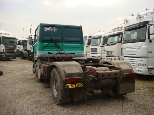 Renault R 385 Ti B 18 S    Air 1996 Standard Tractor  Trailer Unit Photo And Specs