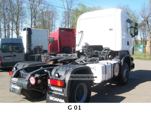 Scania R420 4x4 2007 Other Semi Trailer Trucks Photo And Specs