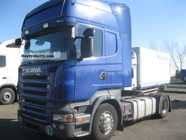 2007 Scania  R480 LA 4x2 Semi-trailer truck Standard tractor/trailer unit photo