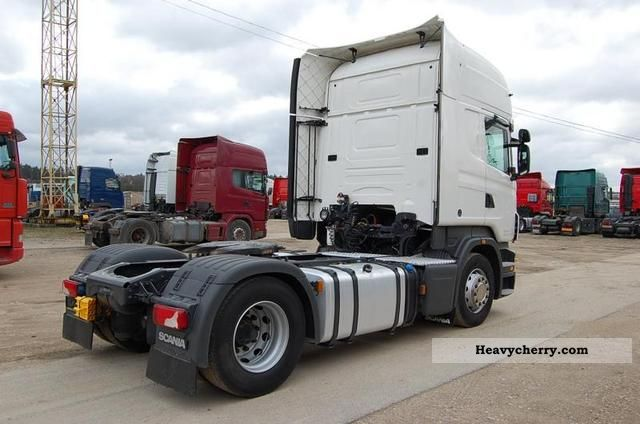 Tractor Trailer Units : Scania r standard tractor trailer unit photo and