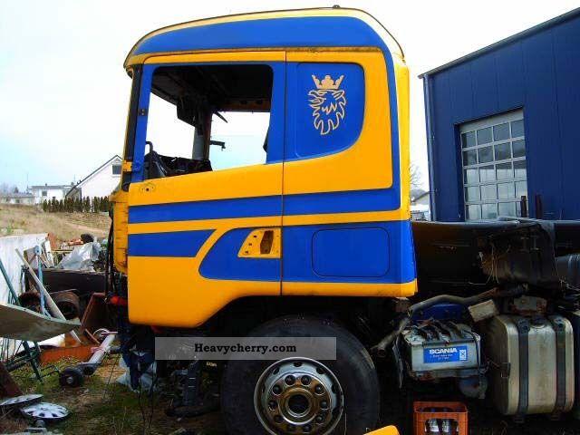Scania 124  420 Engine 400000 Km 1996 Standard Tractor