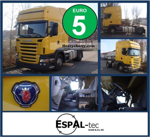 2008 Scania  R420 TOPLINE | RETARDER | 517 550 KM | SAFETY Semi-trailer truck Standard tractor/trailer unit photo