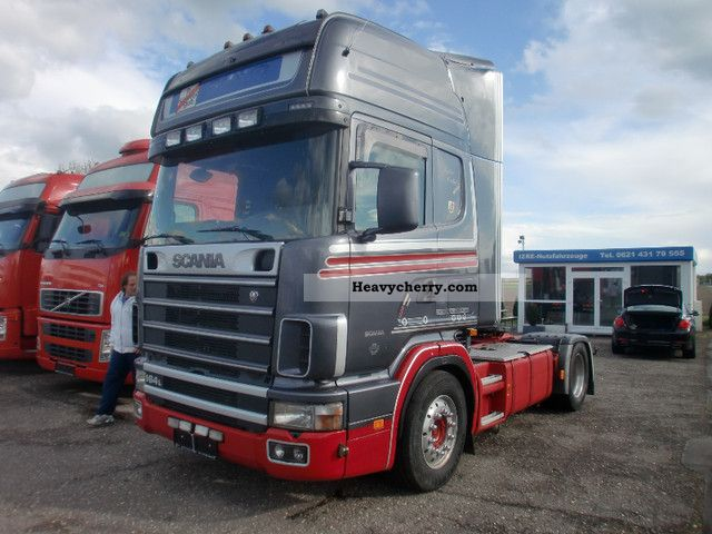 Scania 164 580 topline retarder kein480 euro3 2000 for Garage toyota angers