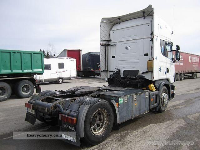 Tractor Trailer Units : Scania r standard tractor trailer unit photo and specs