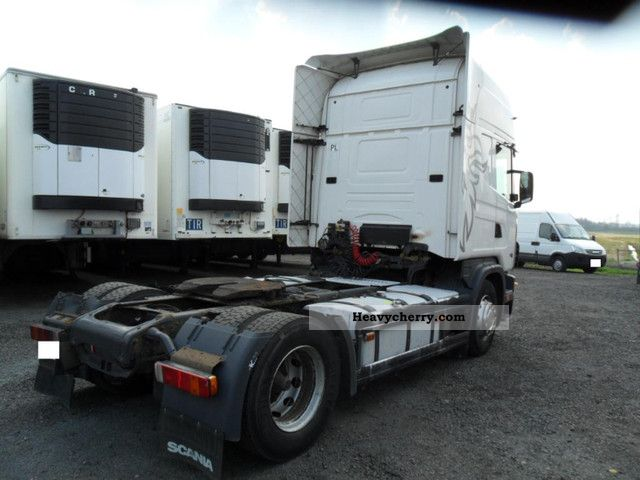 Commercial Trailer Unit : Scania manual standard tractor trailer unit photo