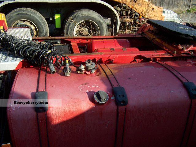 Scania R124 La4x2  Adr  Pto  Topline  Switch  Retarder 2002 Hazardous Load Semi