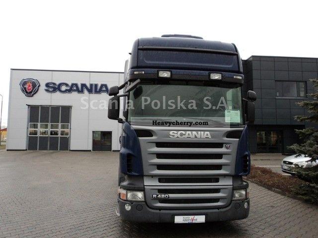 Scania R420la4x2meb 2007 Volume Trailer Photo And Specs
