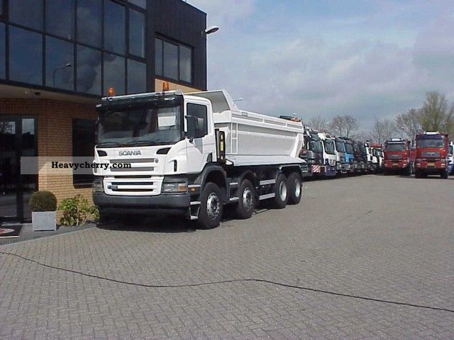 Scania P 420 8X4 TRUCK 2006 Tipper Truck Photo and Specs