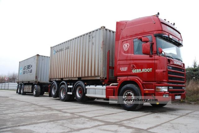 Scania 144 530 8x2 1998 swap chassis truck photo and specs