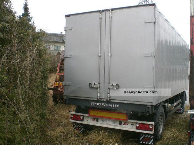 scania 124 l 420 cv ab trailer schwarzm u00fcller 2001 box