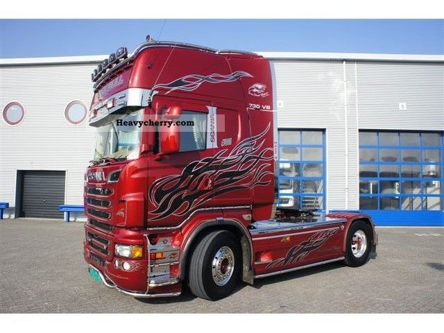 Scania R730 2011 Standard tractor/trailer unit Photo and Specs