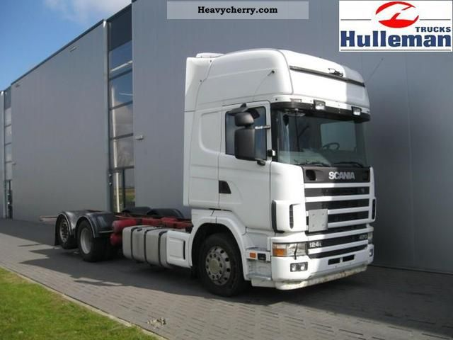 2003 Scania  R124.470 Topline 6X2 EURO 3 Truck over 7.5t Chassis photo
