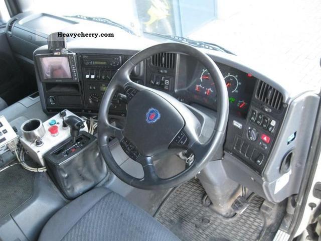 Scania P310 6x2 Side Loader Hydraulic Euro 3 2005 Refuse