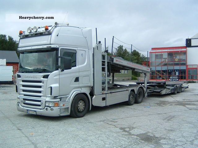 Scania R500 2006 Car Carrier Truck Photo And Specs