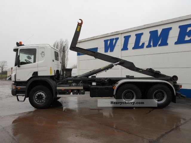 Scania P380cb 2007 Roll Off Tipper Truck Photo And Specs