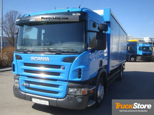 Scania SCANIA P270 2007 Beverage Truck Photo and Specs