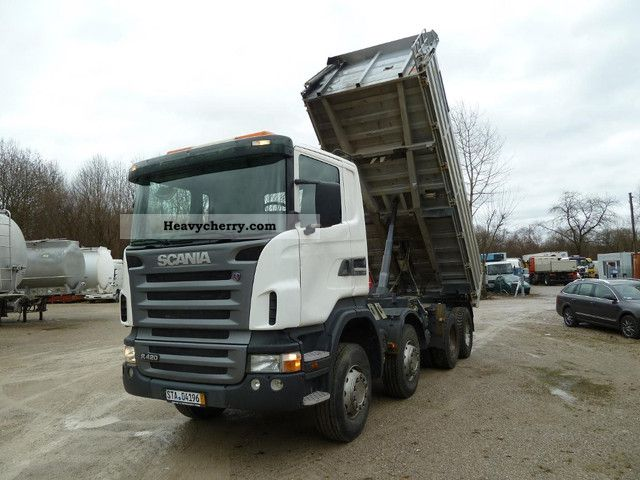 Scania R124 420 8x4 2007 Tipper Truck Photo And Specs
