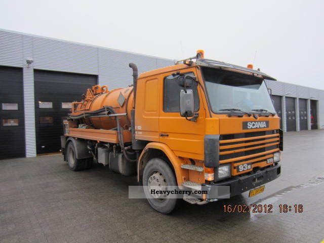 Scania 93m Specifications