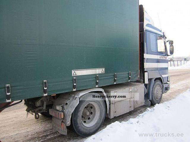 Commercial Trailer Unit : Scania standard tractor trailer unit photo and specs