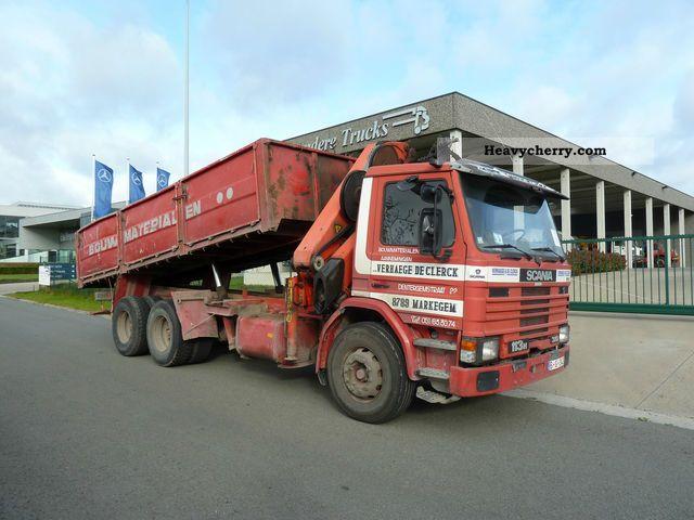 Scania P113 Used Scania P113 Dump Trucks Year 1995 Price