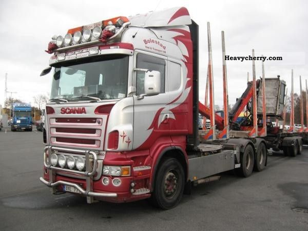 Scania R 2007 Timber Carrier Truck Photo And Specs