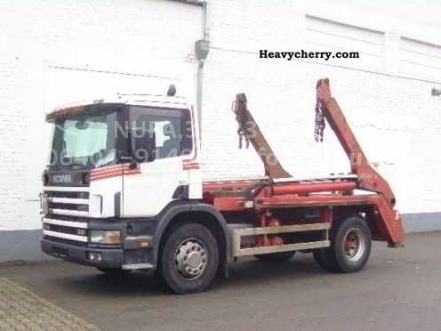 Scania 94 G 310 1999 Dumper truck Photo and Specs