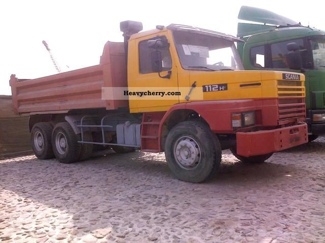 Scania T 112 1985 Tipper Truck Photo And Specs