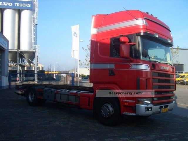 Scania R114 Topline Retarder 2001 Other Trucks Over 7